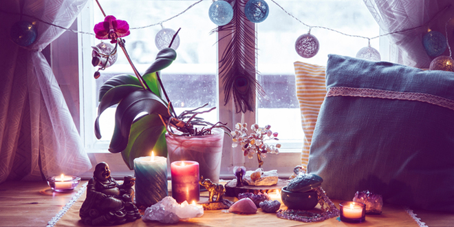 Creating your home altar