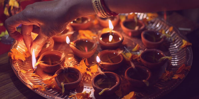 Seis formas sagradas de celebrar Diwali