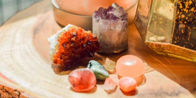 Healing crystals for your romantic journey