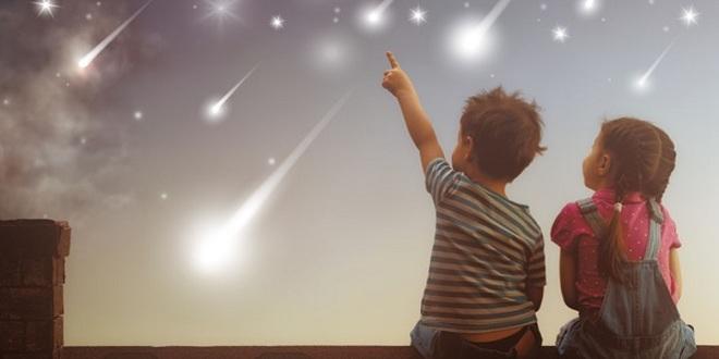 El poder de las lluvias de meteoros
