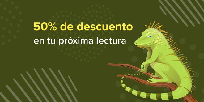 Día de la Iguana con el 50% de descuento!