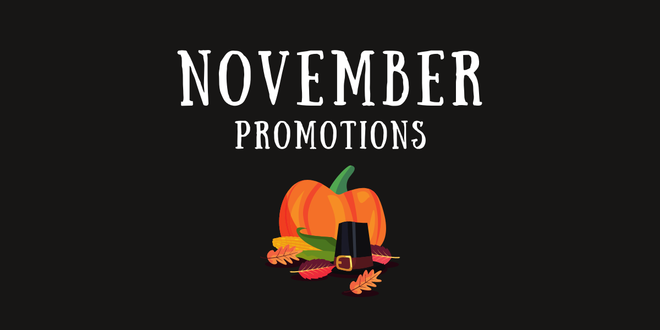 Monthly Promotions: Check Out These Exclusive Offers