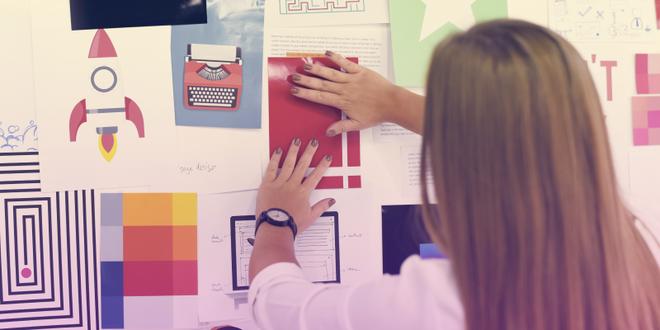 Create a vision board to make your dreams come true